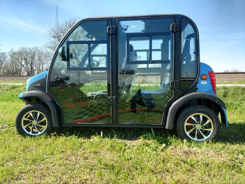 New 2019 Edison T Series 4 Passenger 60v Electric Cart