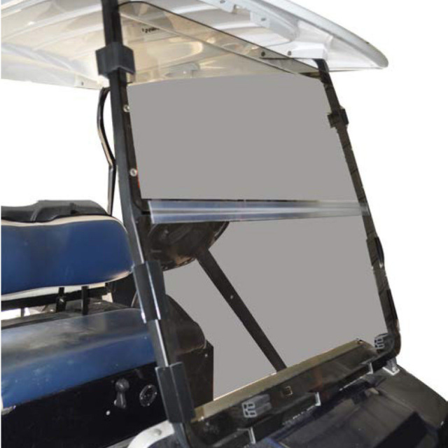 Tinted Club Car Ds Impact Resistant Folding Windshield